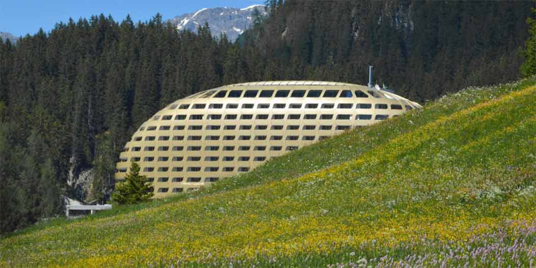 Davos Rocks and Herbs spa package