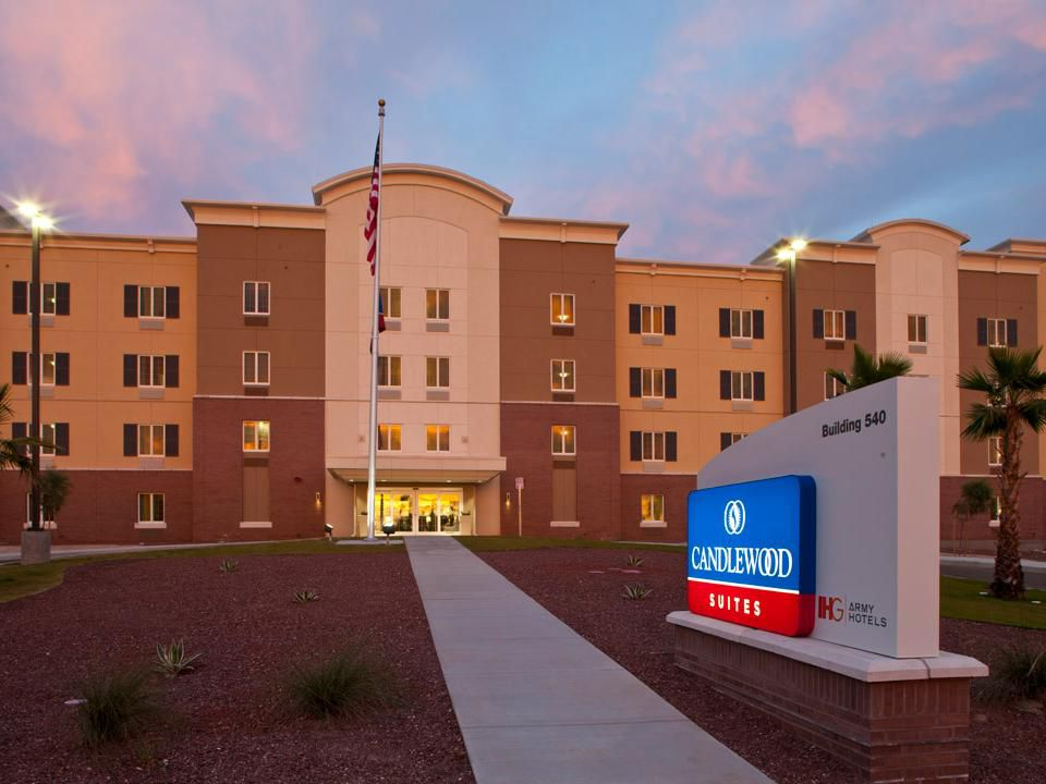 Candlewood Suites Building At Yuma Proving Ground Arizona - Us military installation map for yuma proving ground