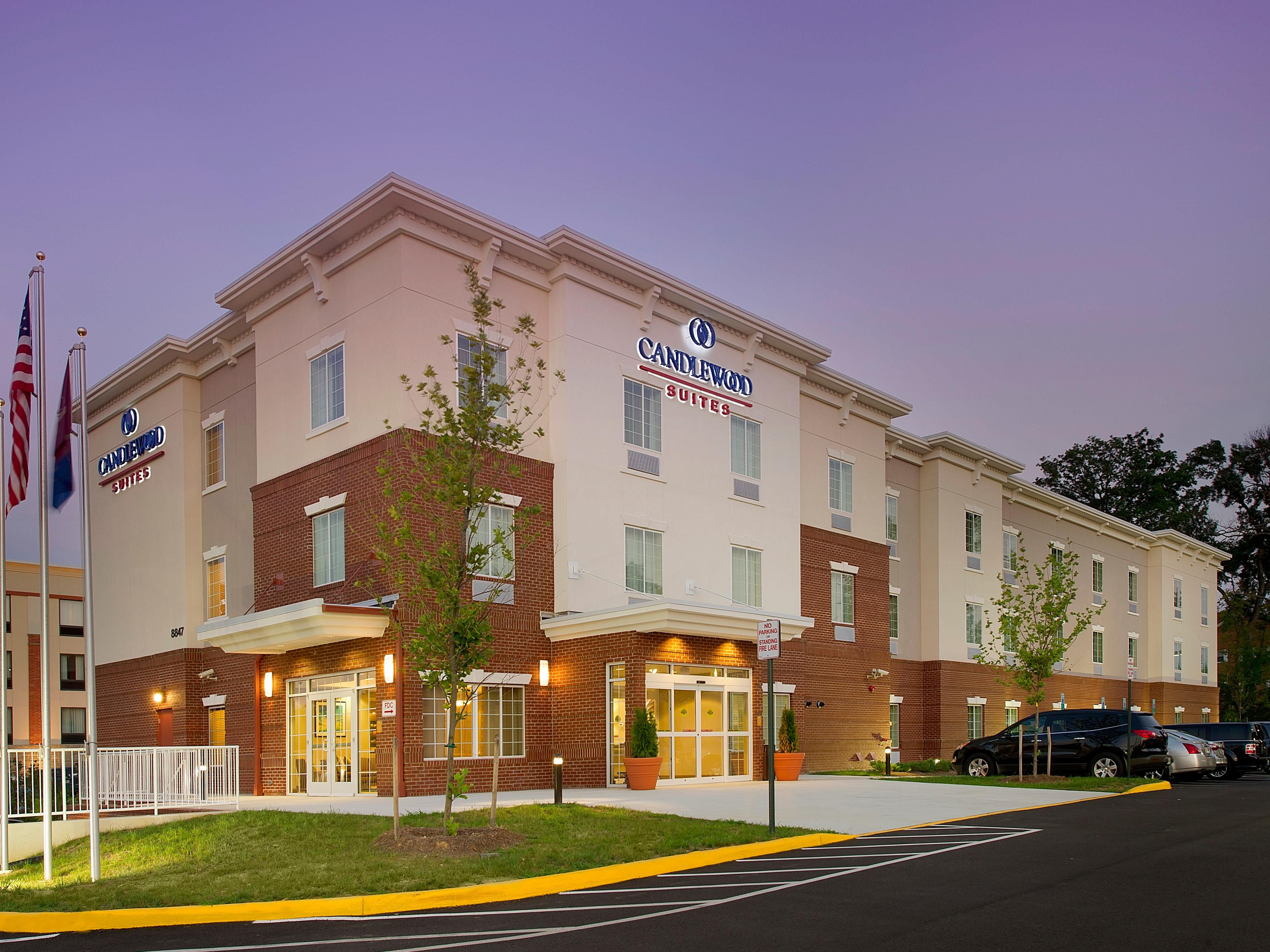 Alexandria Hotels Candlewood Suites Fort Belvoir Extended Stay Hotel In Virginia