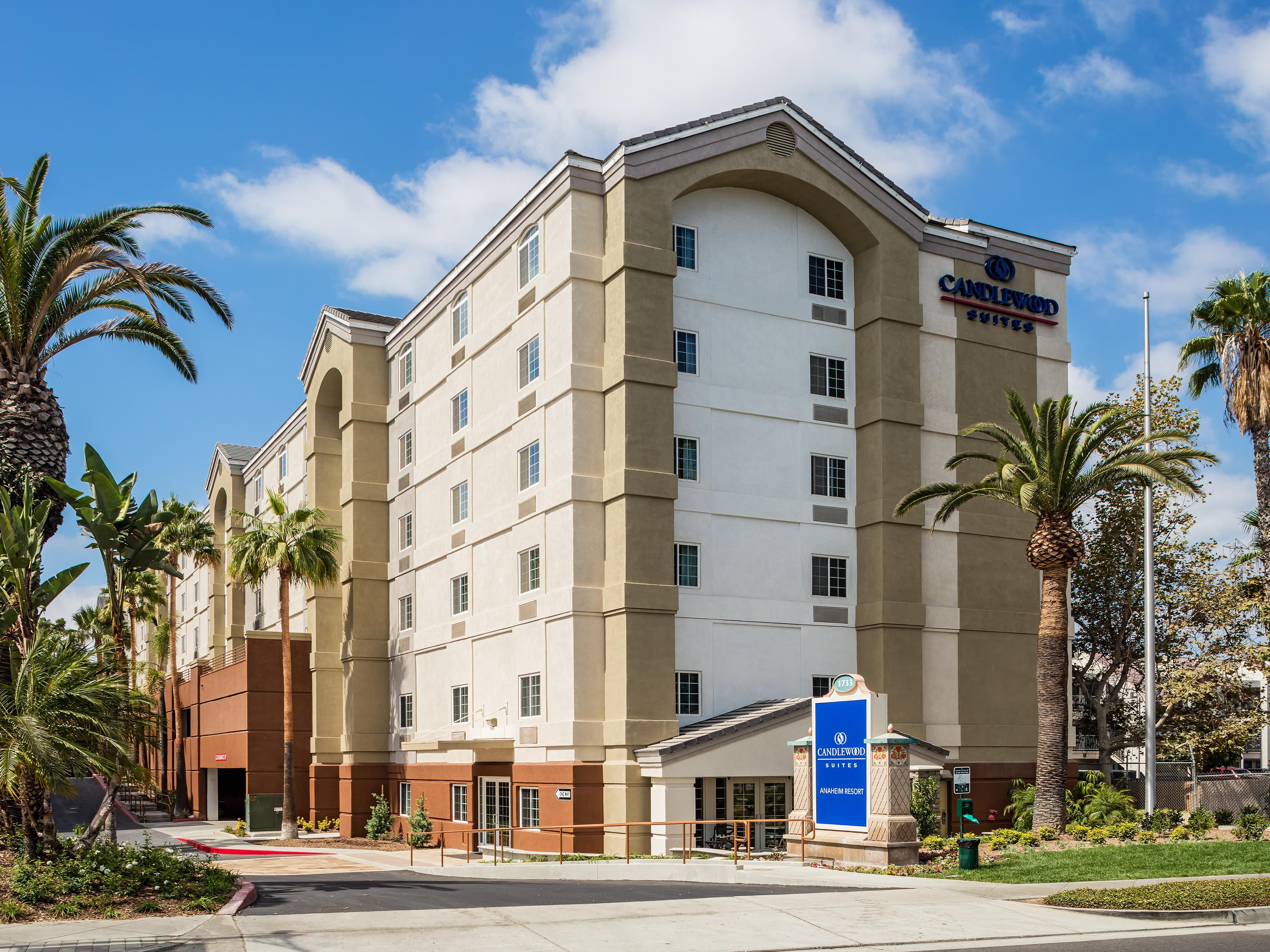 Anaheim Hotels Candlewood Suites Resort Area Extended Stay Hotel In California