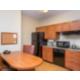 ADA/Handicapped accessible Queen Suite kitchen