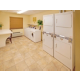 Our complimentary laundry facilities make long-term stays a breeze