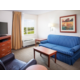 Our spacious one bedroom suites feature extra living space!