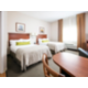 Our studio suites with two double beds feature plenty of room!