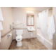 Our spacious bathrooms add to the just-like-home feel!