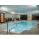 Heated indoor swimming pool for your enjoyment.