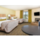 Two queen bed suite would be perfect while in town to visit IU.