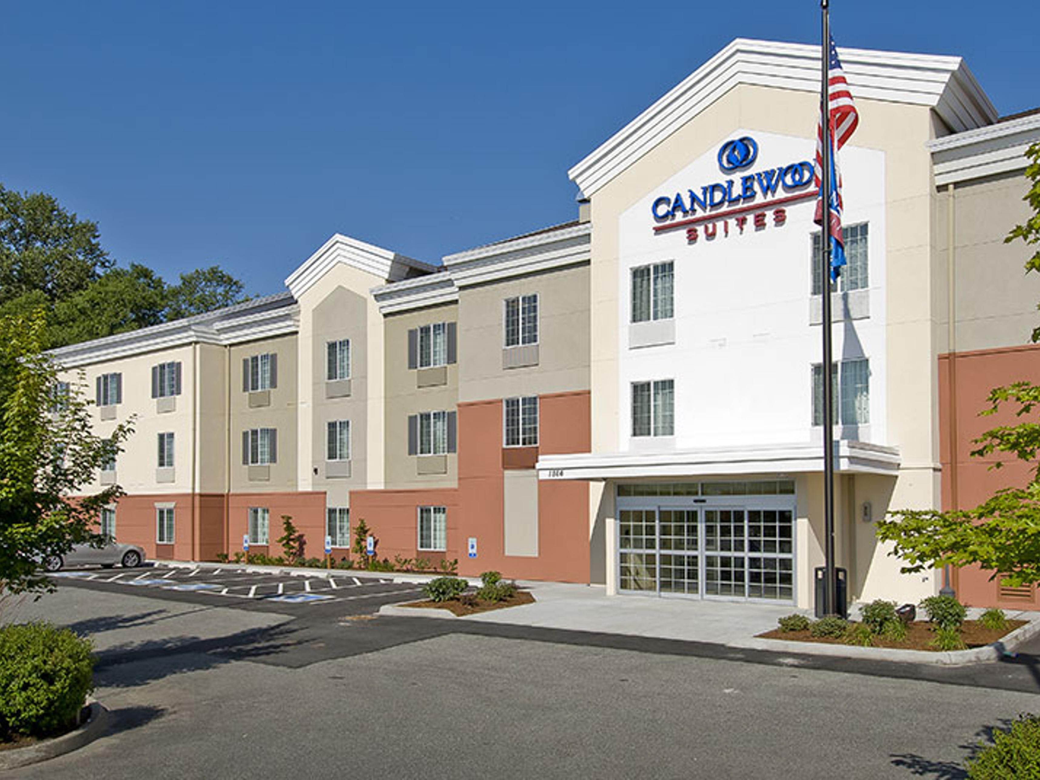 Burlington Hotels Candlewood Suites Extended Stay Hotel In Washington