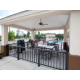 Candlewood Suites Fort Jackson has a patio and grills for guests.
