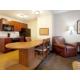 Candlewood Suites Fort Jackson spacious suite