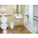 ADA accessible bathroom with seat