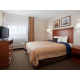 Relax in your own bedroom in the one bedroom suite