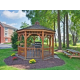 Candlewood Suites Carrier Circle Picnic area with gas grills