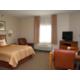 One Queen Bed Studio Accessible