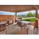 Outdoor Covered Patio with BBQ Grills