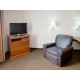 Studio TV and Recliner