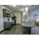 Our One Bedroom kitchen