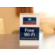 There is complimentary Wi-Fi throughout the hotel