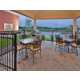 Guest Patio w/ gas grill for your use. Desk has the BBQ equipment