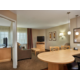 ADA Accessible one bedroom suite living & dining area