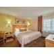 Accessible room sleeping area
