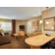 One bedroom suite living and dining area
