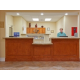 Reception area awaiting your arrival to Candlewood Suites Kingwood