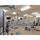 2 Treadmills, elliptical machine, stationary bike, gym