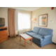 One Bedroom Suites offer a separate living and sleeping area.