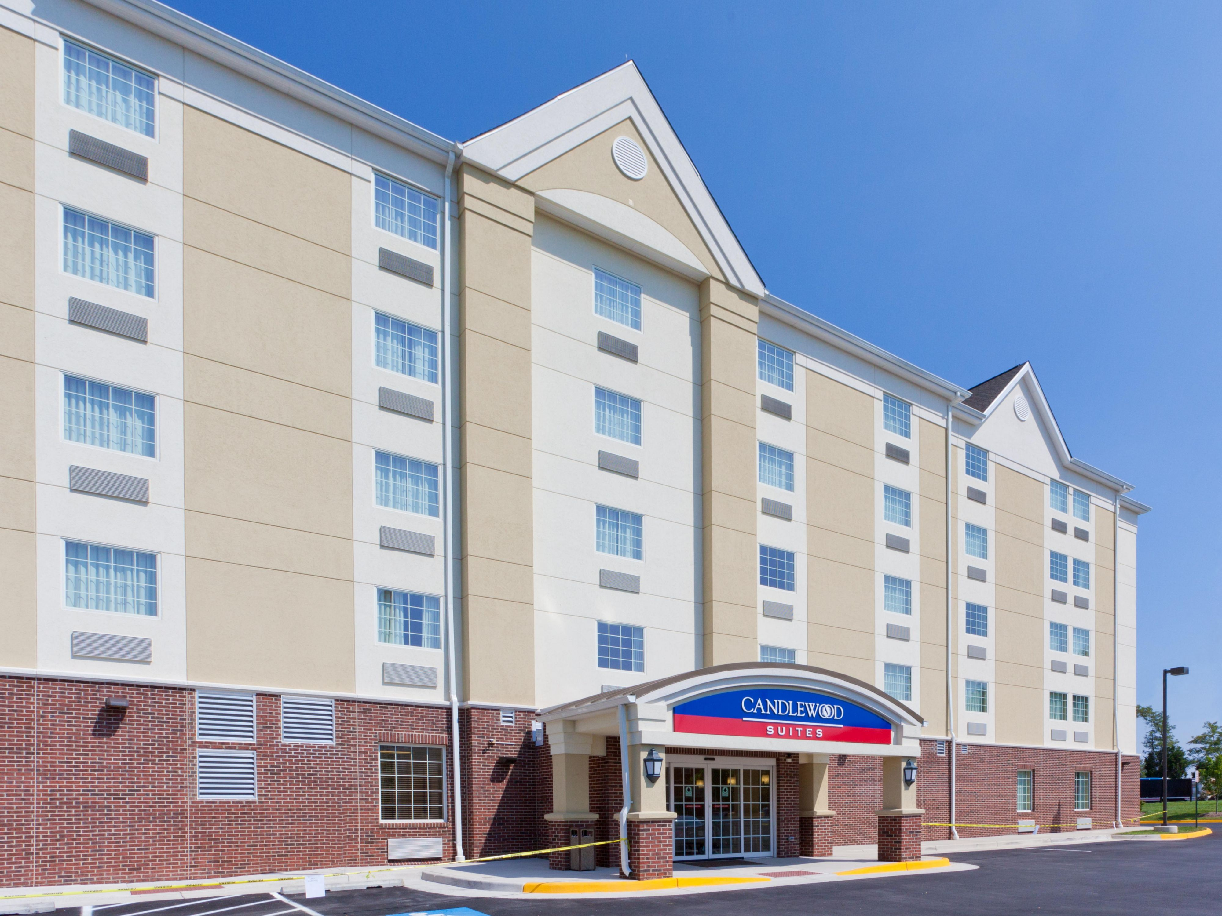 Manassas Hotels Candlewood Suites Manassas Extended Stay Hotel in