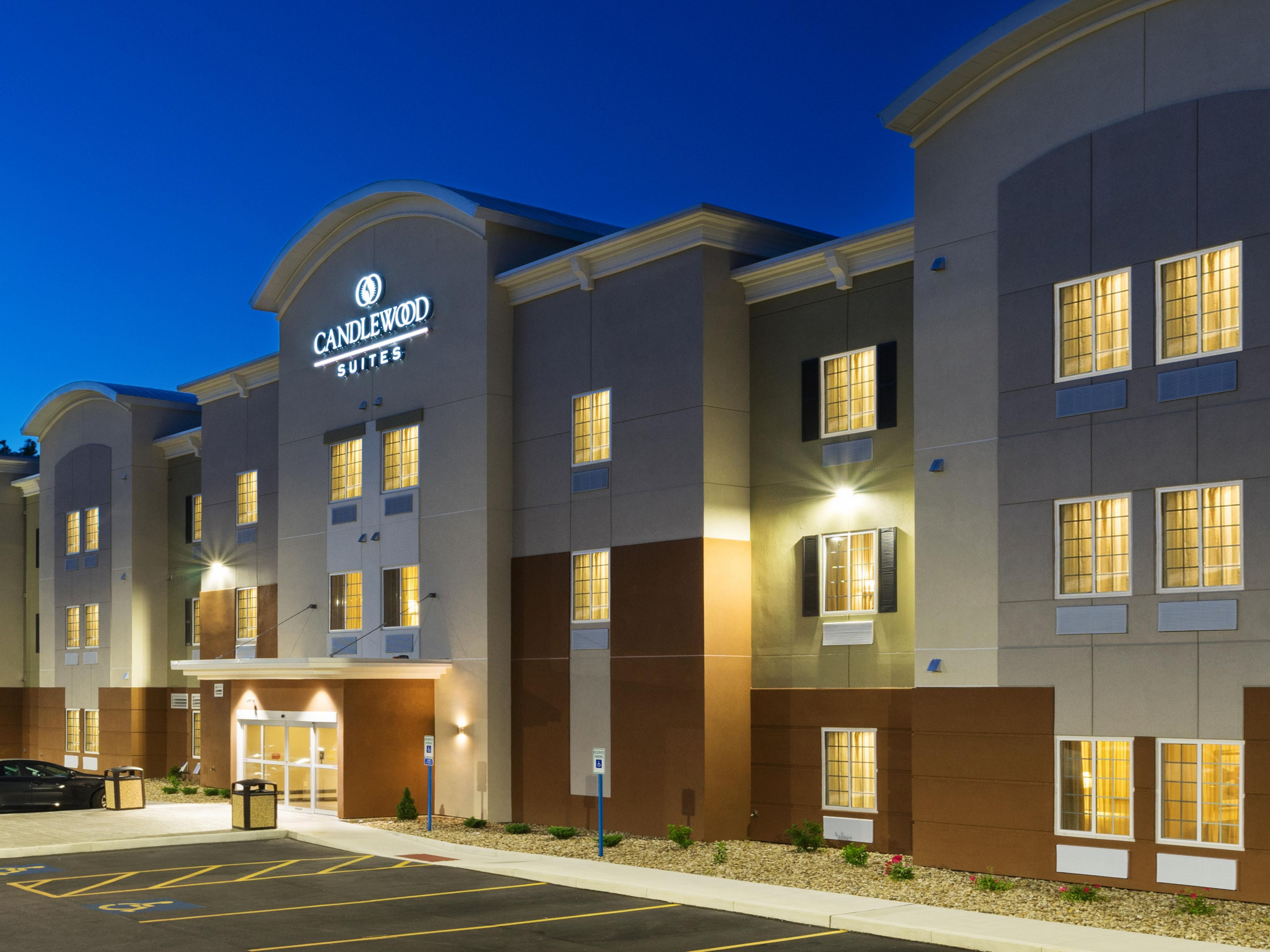 Mercer Hotels Candlewood Suites Grove City Outlet Center Extended Stay Hotel In Pennsylvania
