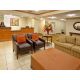 Candlewood Suites Merrillville warm, welcoming lobby