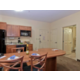 1 Bedroom Suites includes Full Kitchen and Dining Area