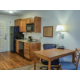 Full Kitchen and Large Work Area with Free Wi-Fi in every Suite!