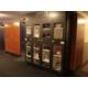 Lending locker located at front desk