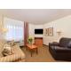 Queen One Bedroom Suite Living Room