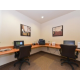 24 hour Business Center with 2 compute and print/fax machine