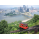 The view of downtown from the Duquesne incline.  12 miles to town