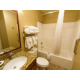 Our spacious bathrooms feature thoughful amenities