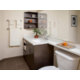 Spacious Guest Bathroom with ample counter space