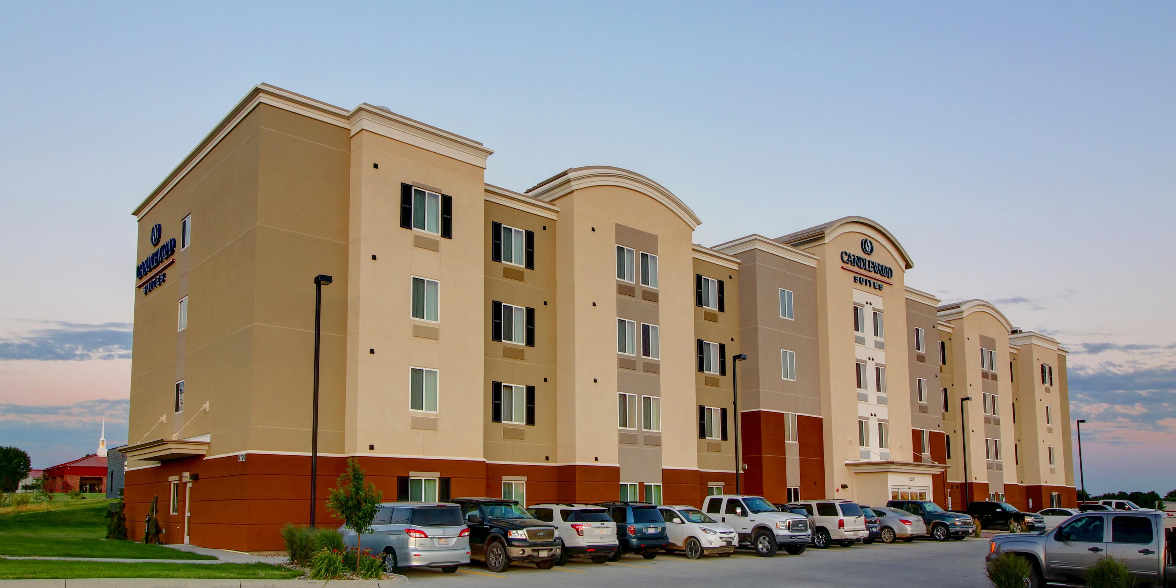 Sioux City Hotels: Candlewood Suites Sioux City - Southern Hills ...