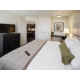 Your living area is separate from your bedroom