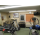 Fitness Center with New Dumbells