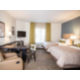 Two Queen Suite with extended desk  at Candlewood Suites Thornton!