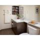 Guest Bathroom includes shower/bath