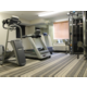 Numerous pieces of equipment to keep you in shape!