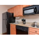 Our in-room kitchens make your long term stays easier.
