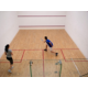 Enjoy a spirited game of squash on our inhouse squash court