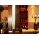Striking Lobby Decor with Decorative Fixtures & Elegant Furnishing