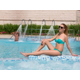 Get the perfect color sunbathing at Amman's famous outdoor pool